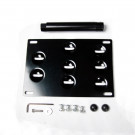 Nissan 350Z 05-08 License Plate Mounting Kit