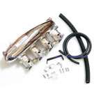 Nissan S13 SR20DET Intake Manifold, Aluminum Casting, Chrome Plated