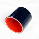 Silicone Tubing Coupler 3.50 Inch, Black