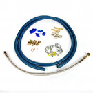 Turbo Oil Feed Line Oil Drain Line Kit (T25, T28)