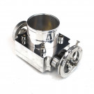 Universal Billet Aluminum 65mm Throttle Body with Adaptor Plate