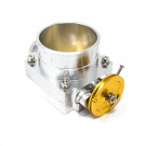 Universal Billet Aluminum 90mm Throttle Body with Adaptor Plate