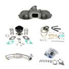 Nissan 240SX S13 S14 SH-SR20 T3T4 Top Mount Turbocharger Setup Kit