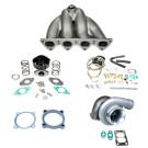 Honda Civic D15 D16 GT35 Top Mount Turbocharger Setup Kit