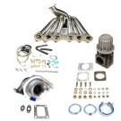 Toyota Supra 93-98 2JGTE T4 Top Mount Turbocharger Setup Kit
